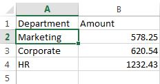 Excel Data File