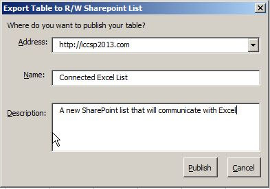 Connecting an Excel Sheet to SharePoint | SharePoint Rhapsody
