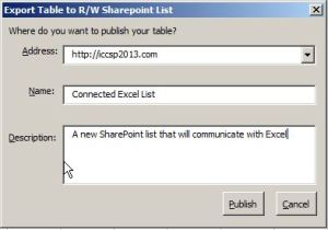 Create a new List in SharePoint
